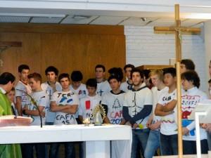Misa de envío Colegio San Martín de Tours